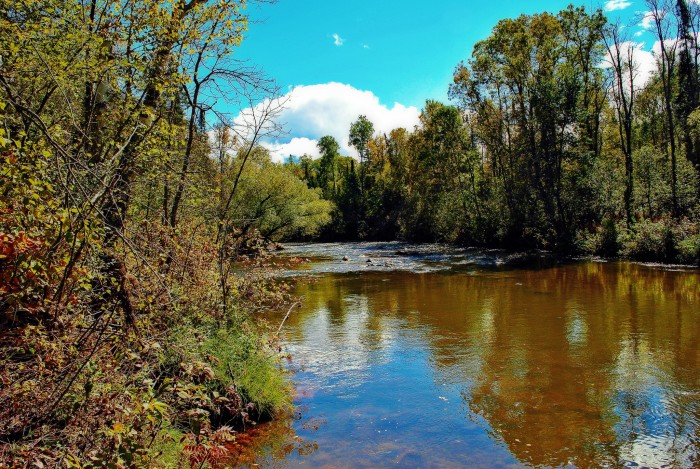 13. We have wonderful waterways that are awesome to walk by but even better to kayak or canoe in.