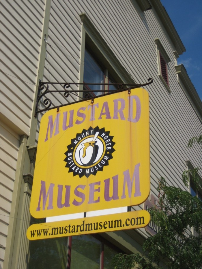 6. Whether it's Mustard Museums, Trollways, or the House on the Rock, there is a certain quirkiness to this state.
