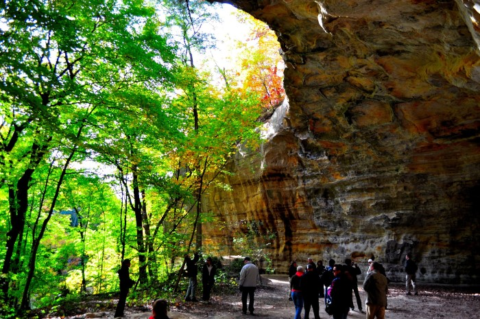 8. As flat as Illinois is, there are places like Starved Rock that completely surprise you with epic rock formations and waterfalls.