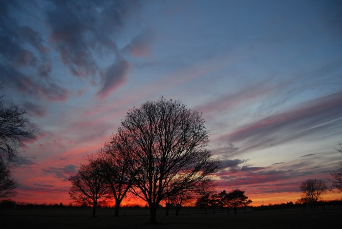 10. There is nothing more awesome than taking in an epic sunset in Illinois.