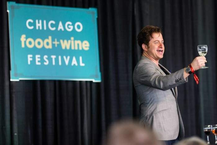 5. Chicago Food and Wine Festival