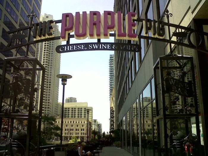 7. The Purple Pig