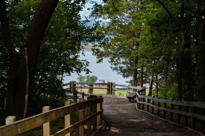 7. Mississippi Palisades State Park