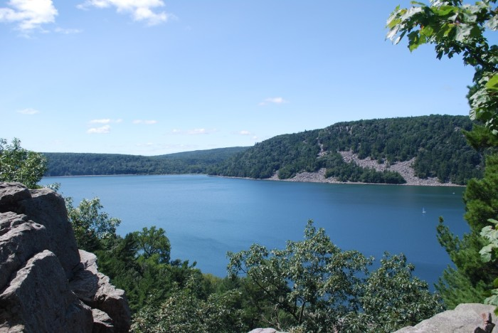 1. Devil's Lake State Park