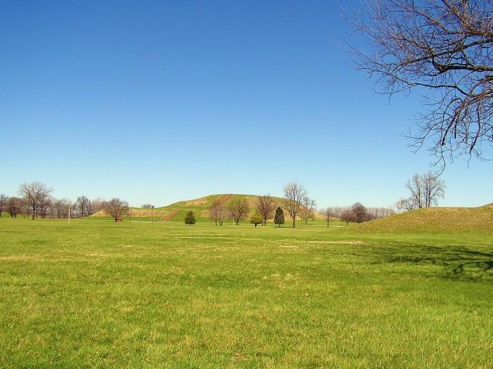5. Cahokia Mounds