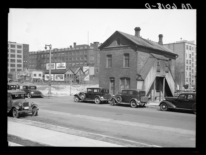1. This is what the house at 912 North 8th Street in Milwaukee looked like in 1936.