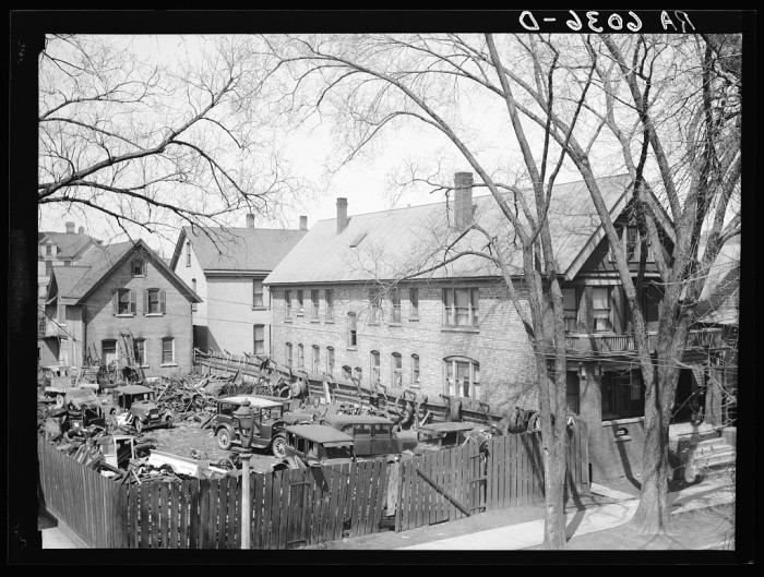 3. This is a house next to a junk yard, located at 1535 North 10th Street in Milwaukee.