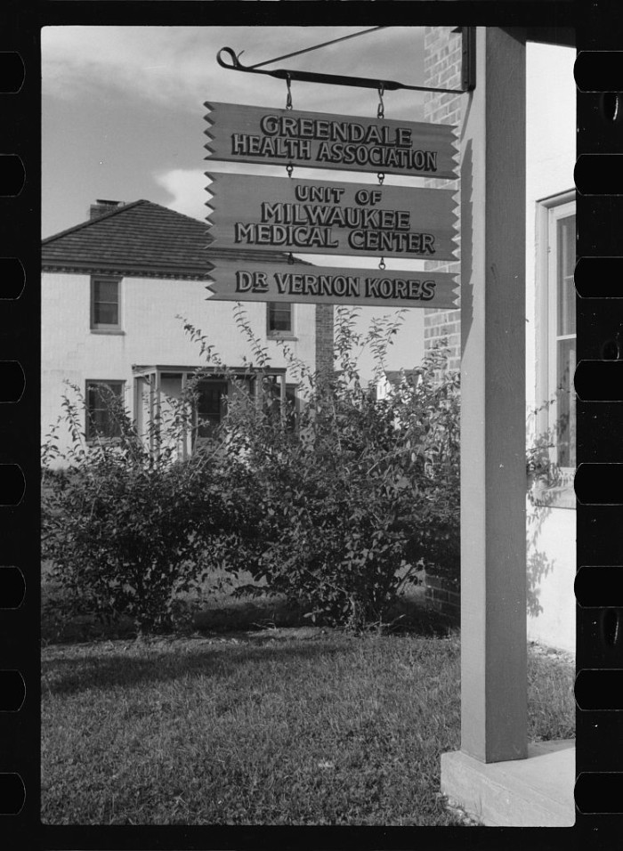 11. This was the medical center in Greendale in 1939.