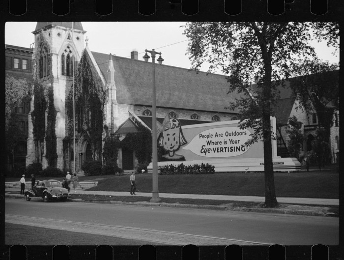 12. In 1939, this was the exterior of a church.