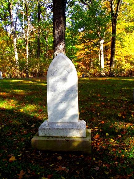 2. Nancy Hanks Lincoln's Grave