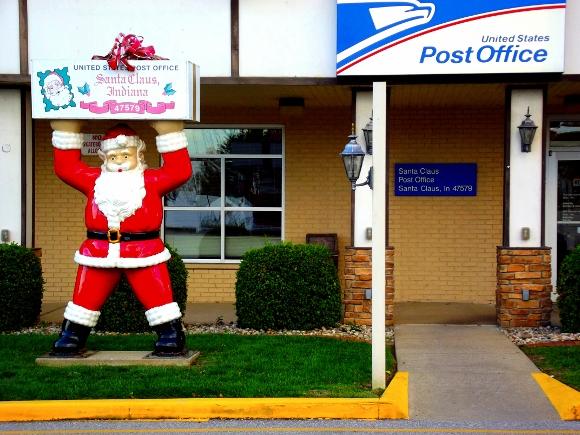 9. Santa Claus, Indiana