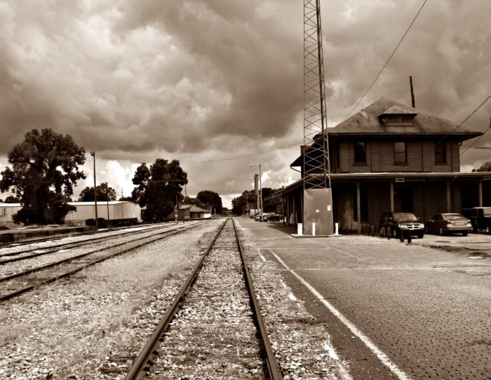 1. Up until 1995, this Grenada depot was a stop for Amtrak's City of New Orleans train.