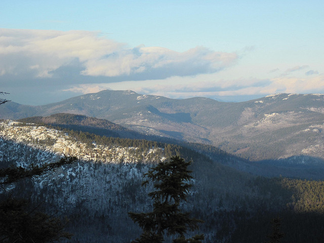 3. The purple and blue hues over the White Mountains are breathtaking.
