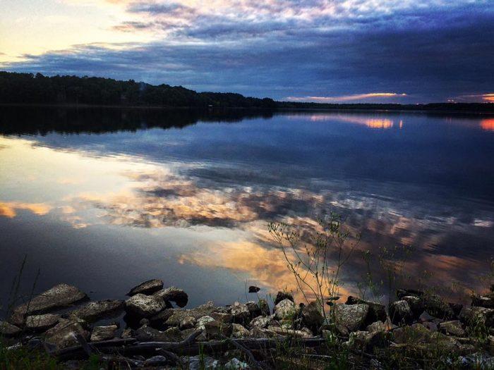 1. Oktibbeha County Lake, Starkville