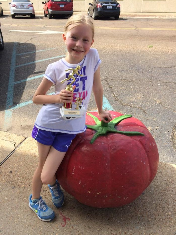 1. Have some fun at the Crystal Springs Tomato Festival.