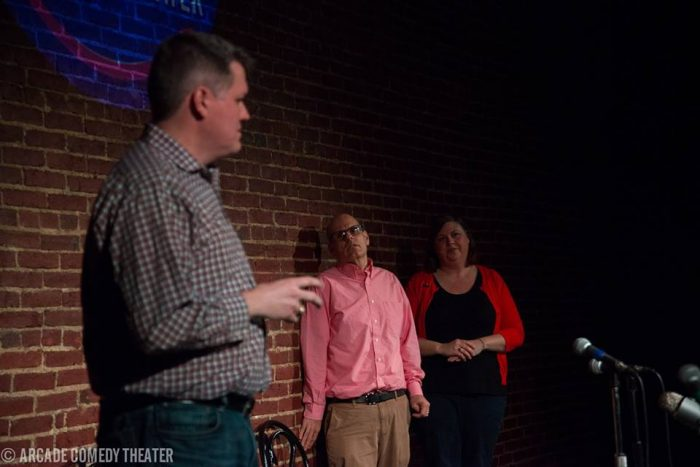 1. Laugh it up at Arcade Comedy Theater.