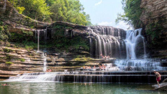 5. Tennessee: Cummins Falls