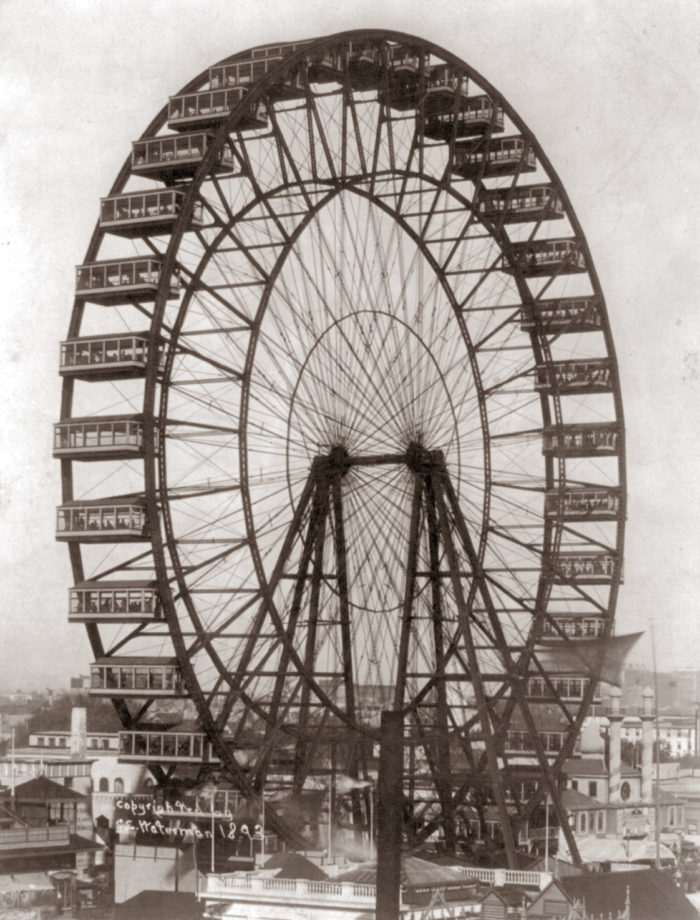 1. The first Ferris Wheel was invented by native Pittsburgher George W. Ferris.