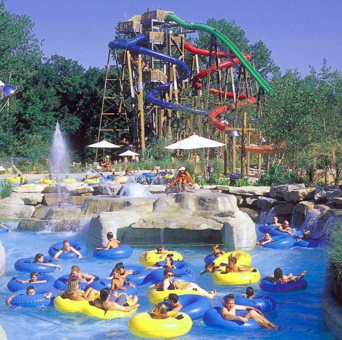 1. Hurricane Harbor in Six Flags – Eureka, Mo.