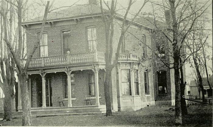 1.  City Hospital and Medical School, Sedalia, 1900