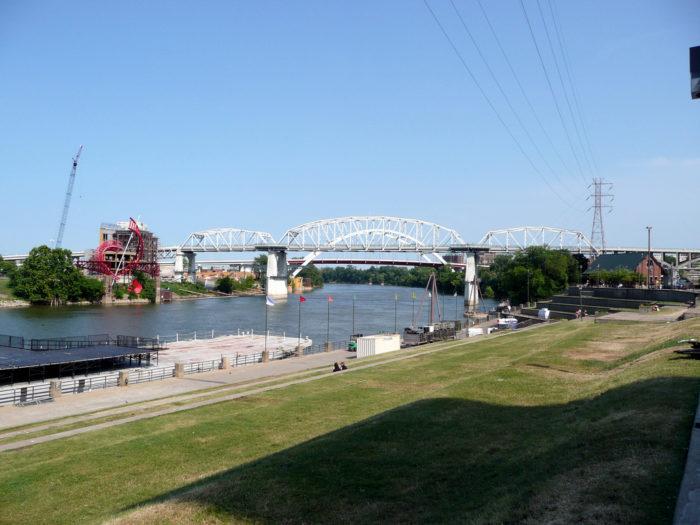 1. Take a walk along Riverfront Park.