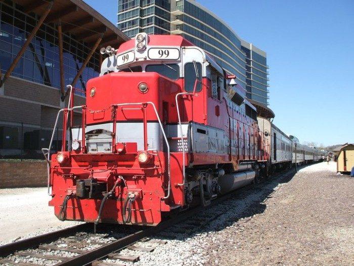 9. Silver Chef, Branson Scenic Railway, Missouri