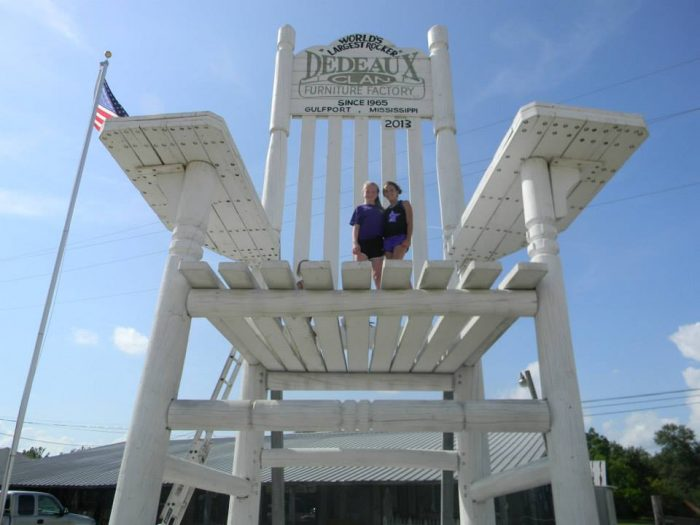 10. World's Largest Rocker, Gulfport