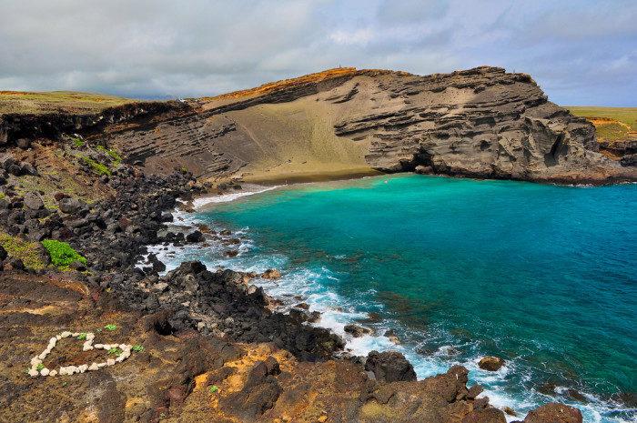 Hawaii:  Papakolea Beach