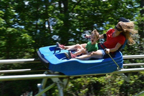 10. Try out the new Ski Mountain Coaster at Ober Gatlinburg.