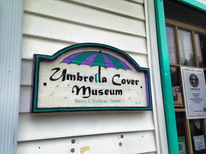6. The Umbrella Cover Museum, Peaks Island