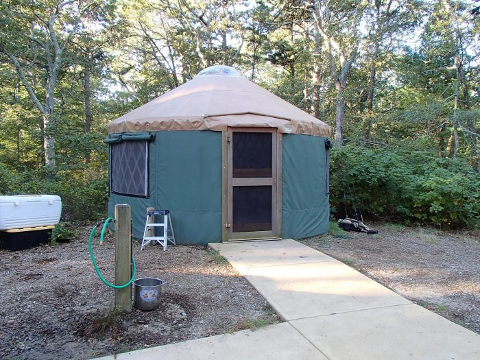 15. Spend the night in a yurt at Tugaloo State Park