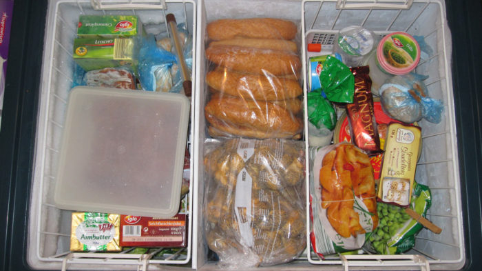 7. To keep your bread from growing mold in humid Louisiana, put it in the refrigerator.