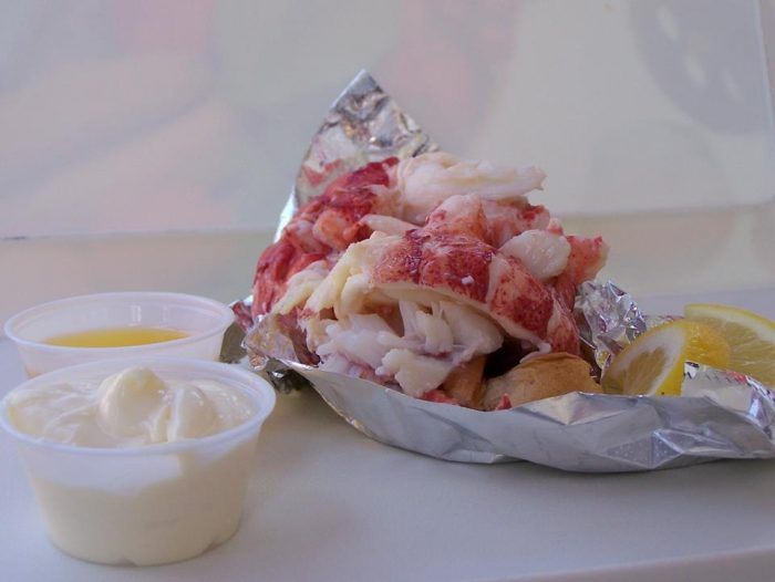 13. Chow down on a lobster roll.