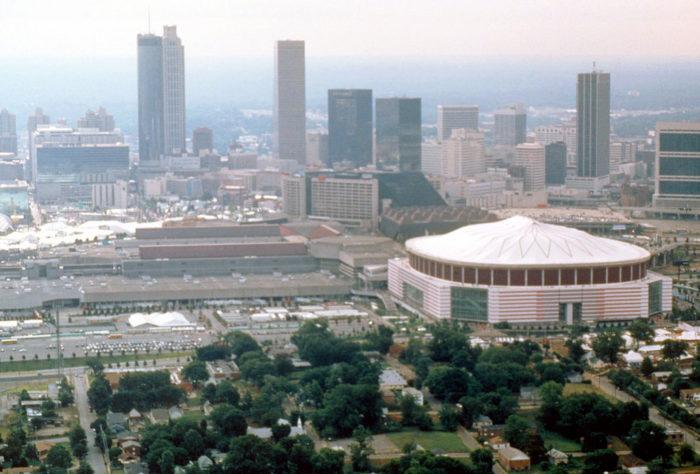 3. Watch the Atlanta Flames or the Atlanta Hawks in The Omni Coliseum.