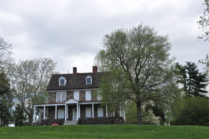 6. The Bolton Mansion in Levittown, a patchwork estate where a collection of ghosts wander.