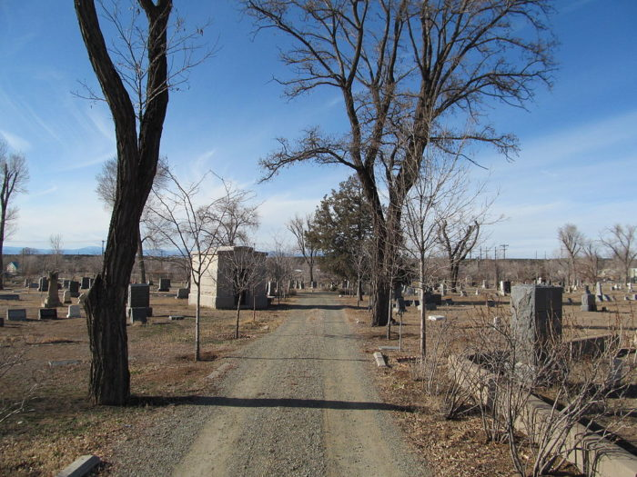Optional stop: Fairview Cemetery, 1134 Cerrillos Rd, Santa Fe, NM 87505