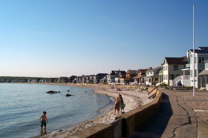 These small towns in connecticut have tiny populations for Beach towns in connecticut