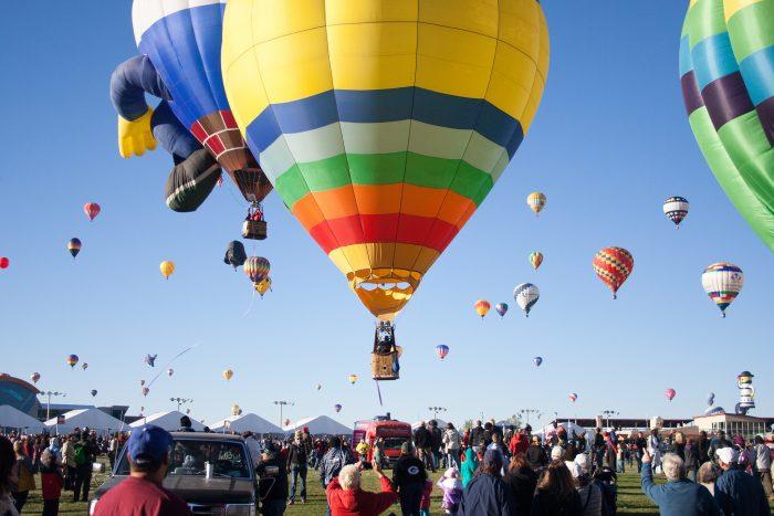 2. Teton Valley Balloon Rally, Driggs