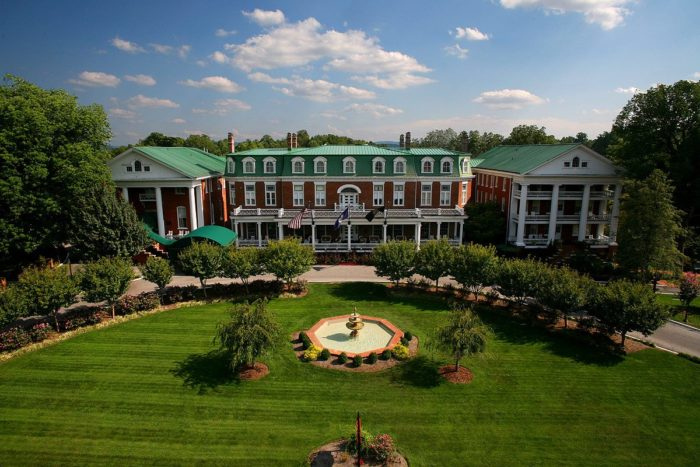 7. The accommodations are beautiful and historic