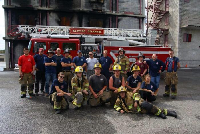 4. The volunteer first responder