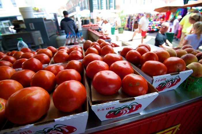 5) Chow down on some Creole tomatoes