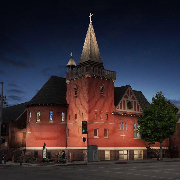 10. Episcopal Church of the Messiah in Santa Ana