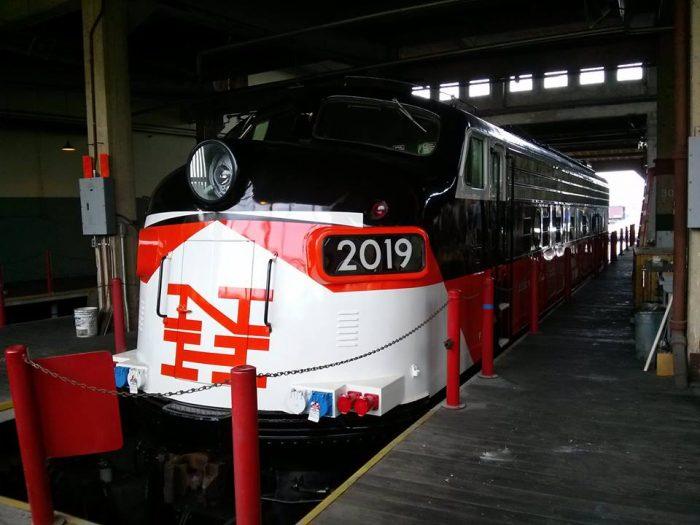 2. Railroad Museum of New England (Thomaston)