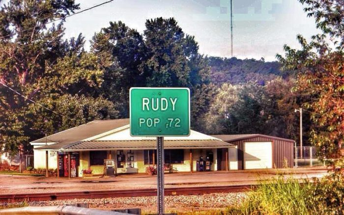 1. Rudy is sparsely populated and easily defensible.
