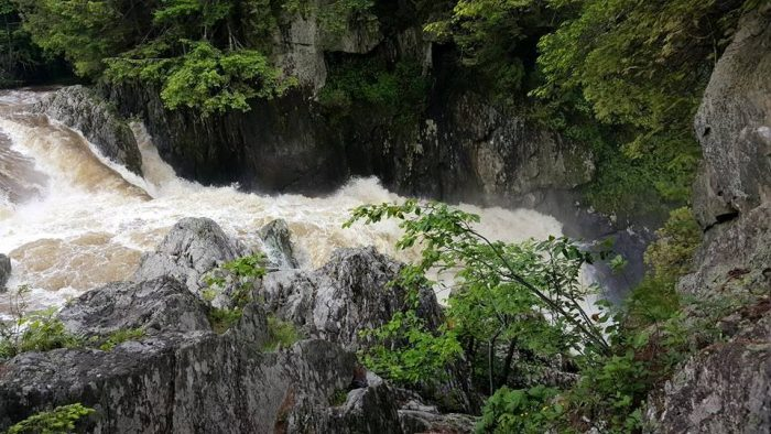 4.  Big Falls, Troy