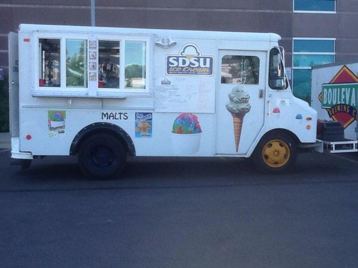 10. Treat yourself to some SDSU ice cream.