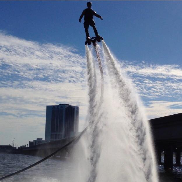 NOLA Flyboard is the first company in Louisiana to offer this activity and has been operating for 3 years.