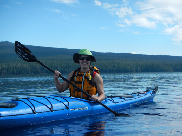 7. .... or kayaking on one of Oregon's beautiful rivers or lakes.