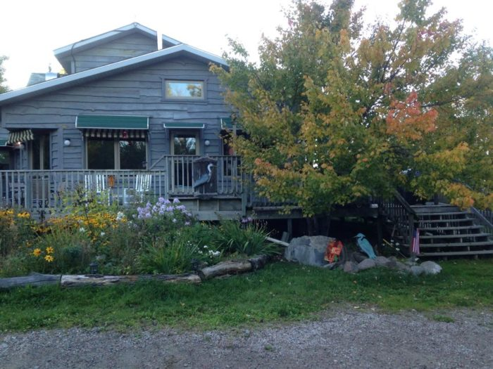 Stay at the Blue Heron Bed & Breakfast.