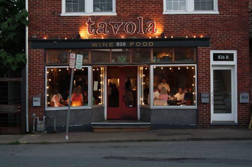 2. Tavola Restaurant (Charlottesville)